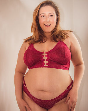 Pomegranete Sadie Easy Fit Bralette - XS/S left!