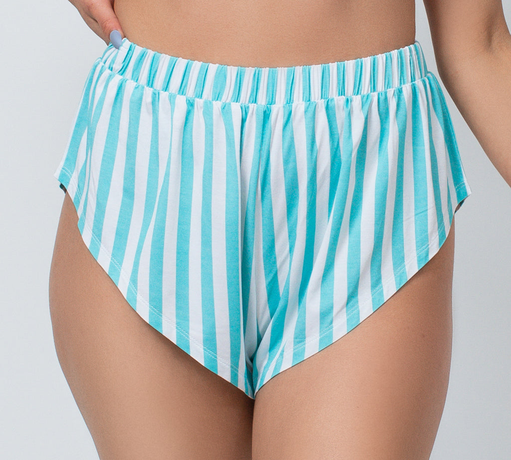 Kilo Brava Blue Stripes French Knickers/Tap Shorts - S-XXXL