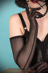 Long Sheer Gloves