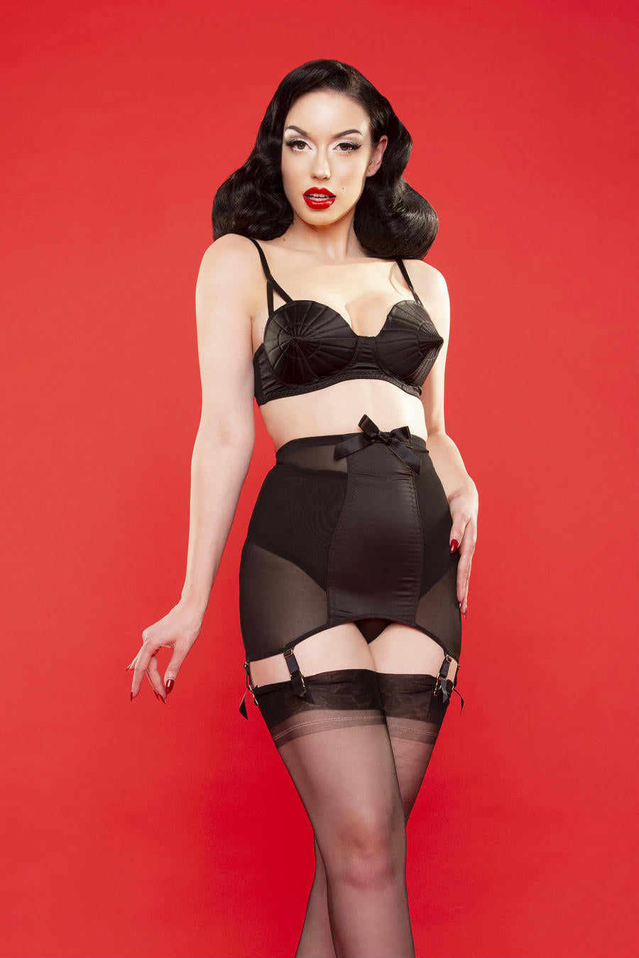 Satin Girdle - only size 10 left!