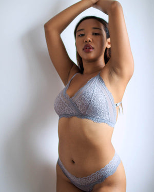 Lacey Panty - Pale Blue - XS-3XL