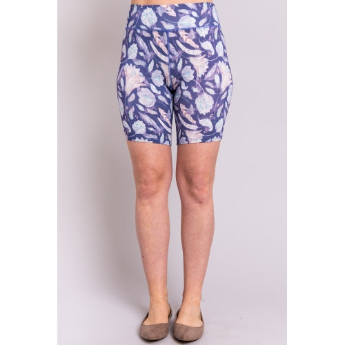 Hallie Under-short in Blue Feather - size L left!