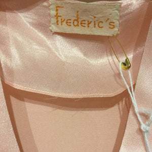 Frederic's Silk Satin Bed-jacket S/M/L #054