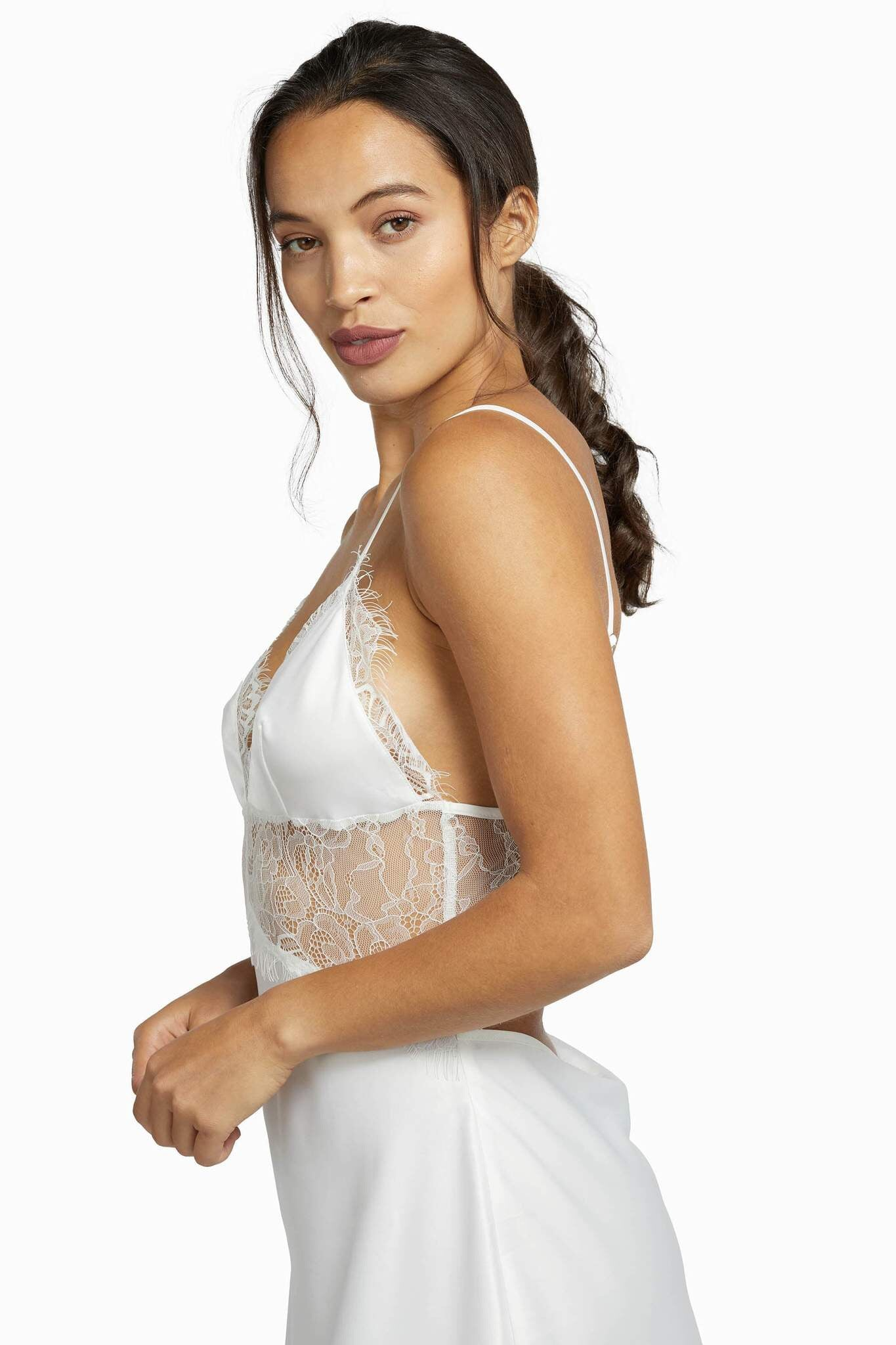 Ivory Helena Slip dress - sizes 6-12 (small fit)