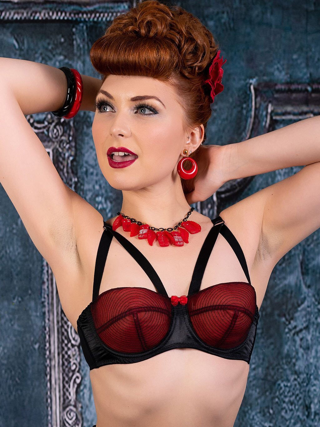 Yva Sling Bra - select sizes 32D-36F and 38C-DD