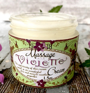Violet Massage Cream