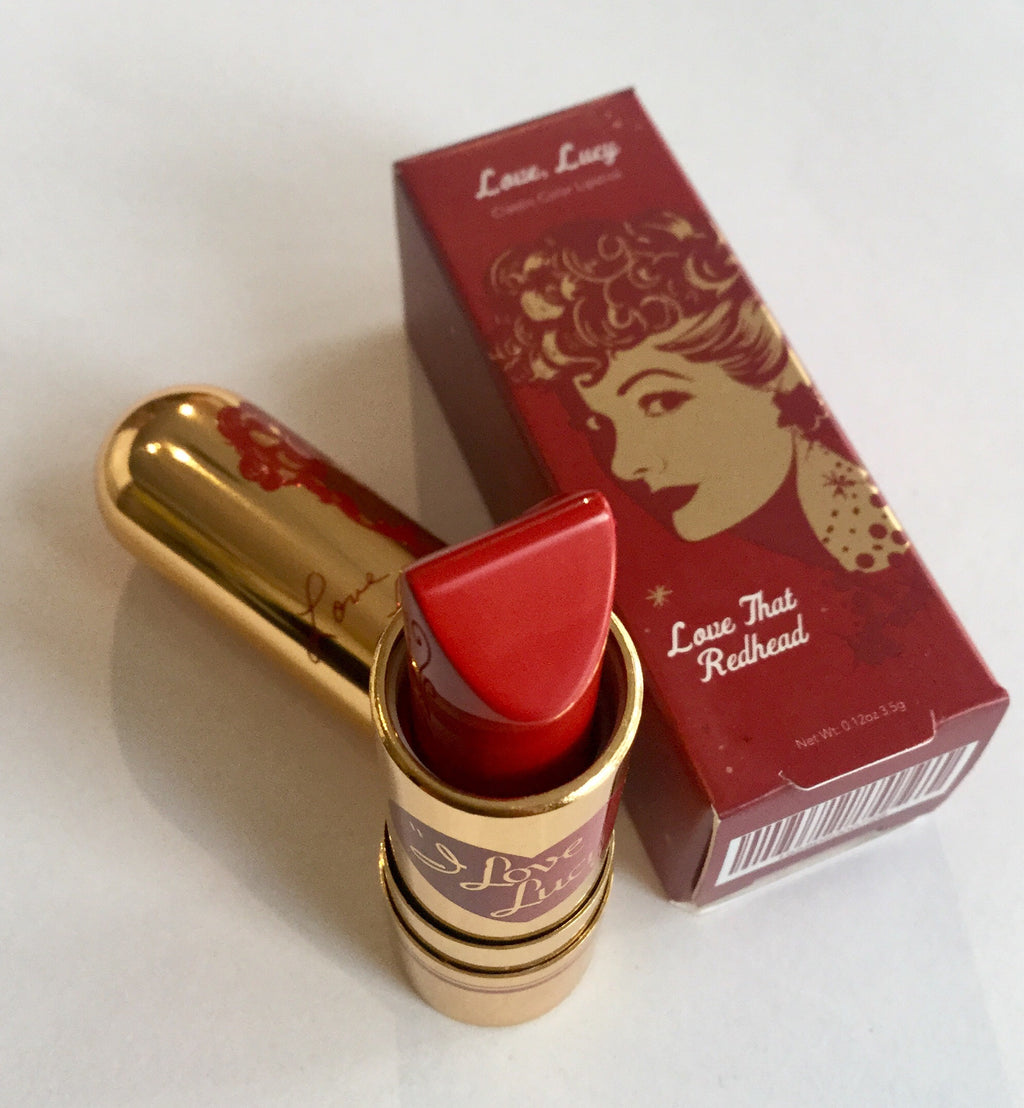 "I Love Lucy ""Love That Redhead"" Lipstick"