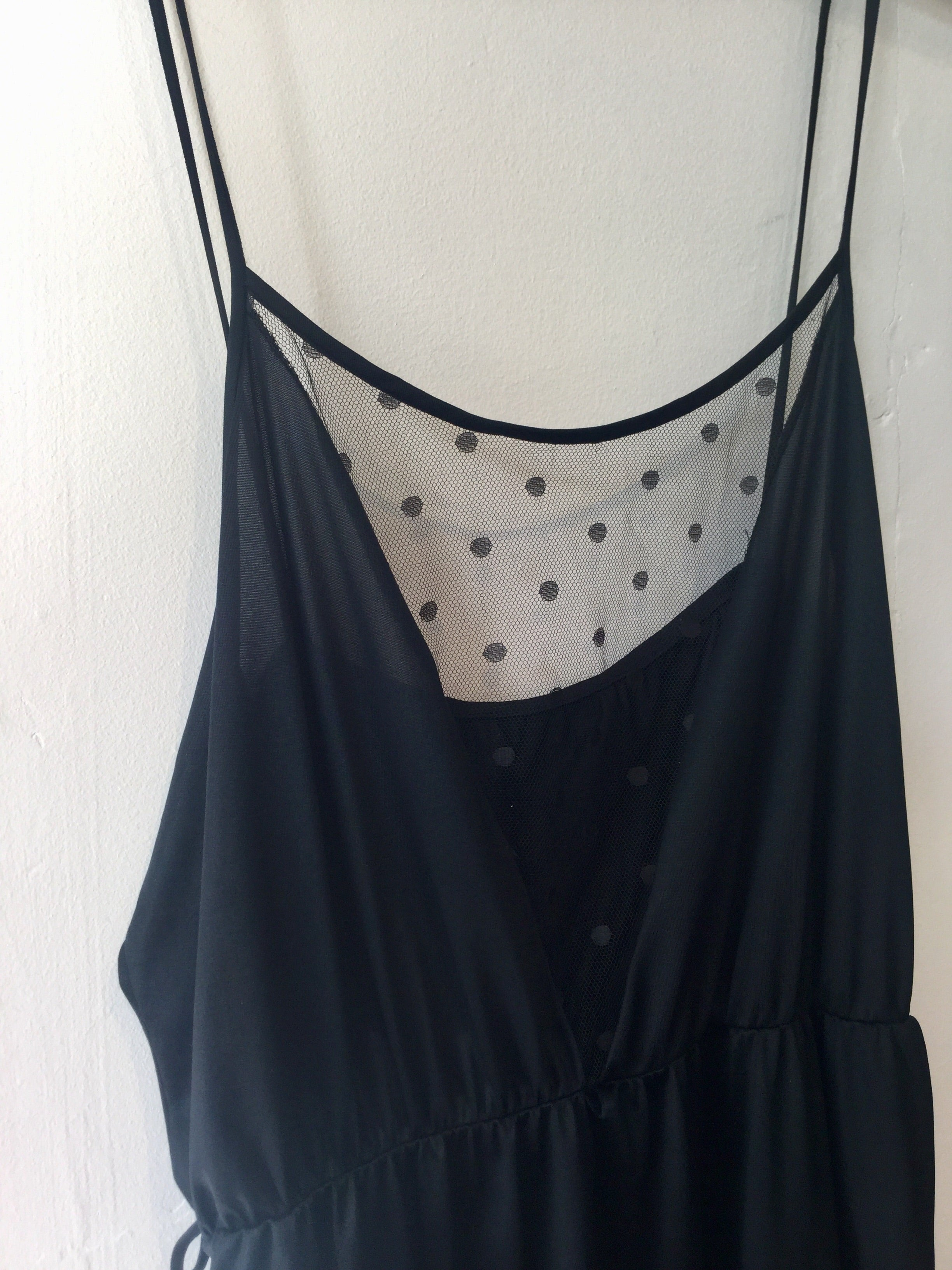 Polka Dot Tulle Nightdress L/XL+ #149