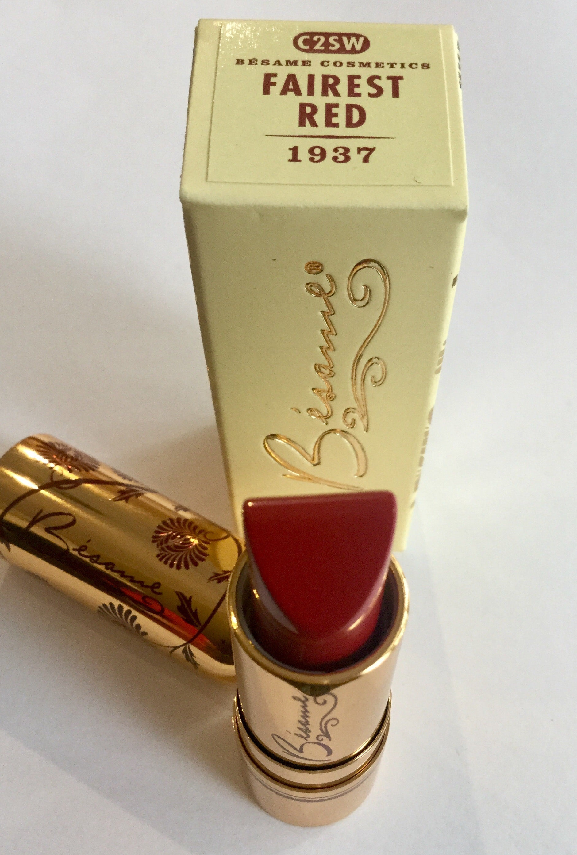 1937 Fairest Red Lipstick
