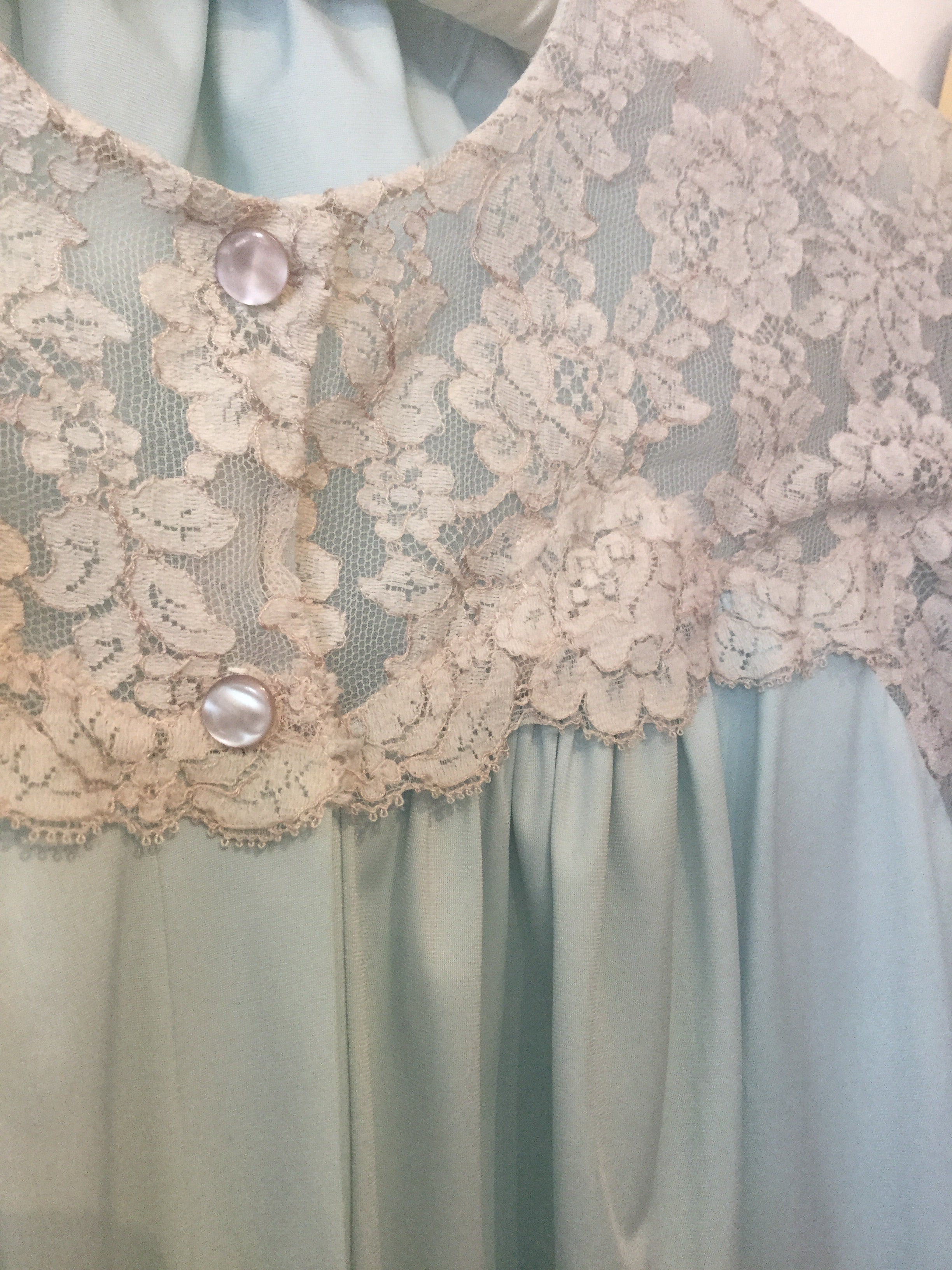 Lace Shoulder Bed Jacket M/L/XL+ #110
