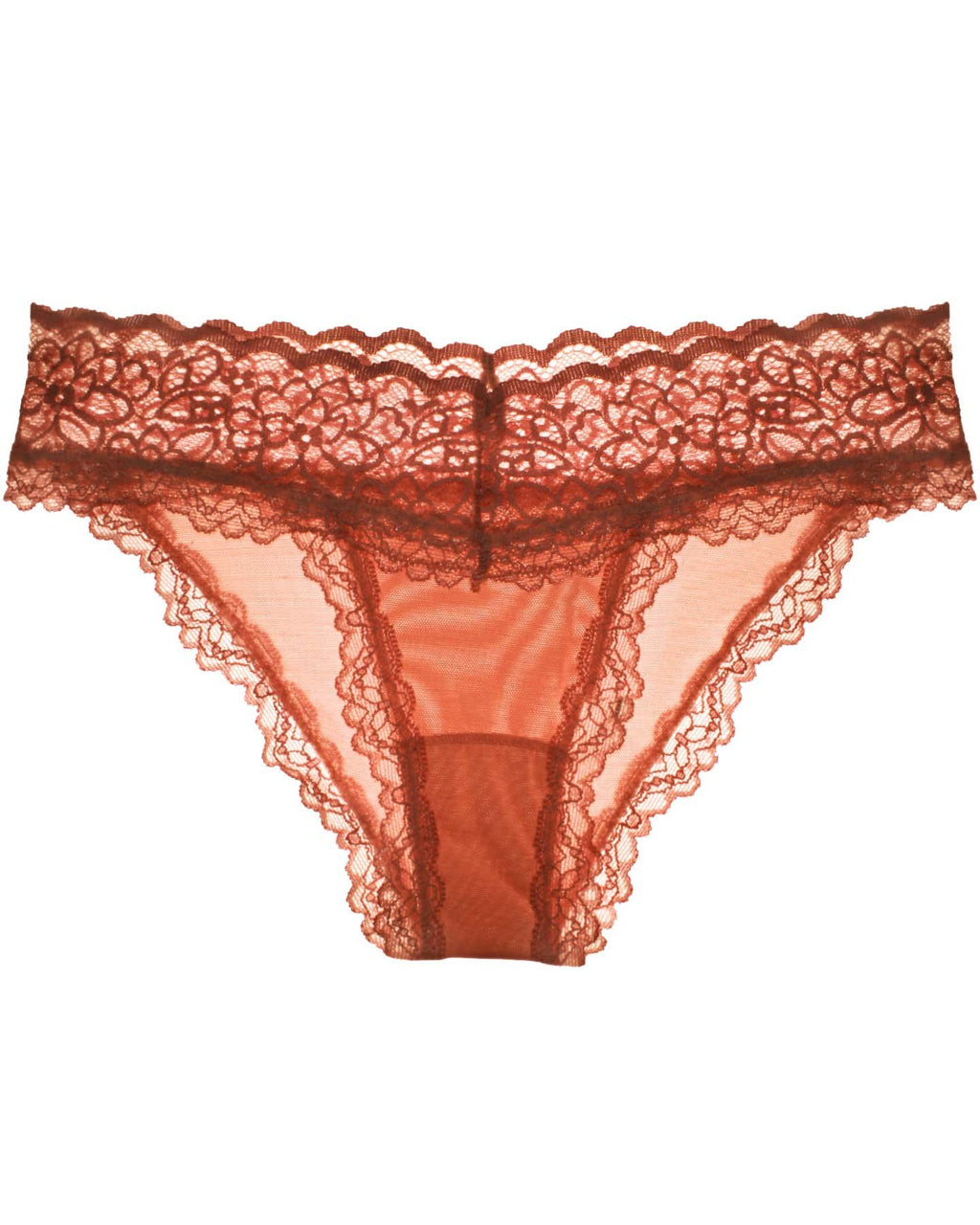 Lacey Panty - Red Clay - XS-3XL