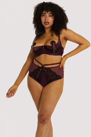 Muriel Quarter Cup Bra - sizes 32B/30DD - 44G