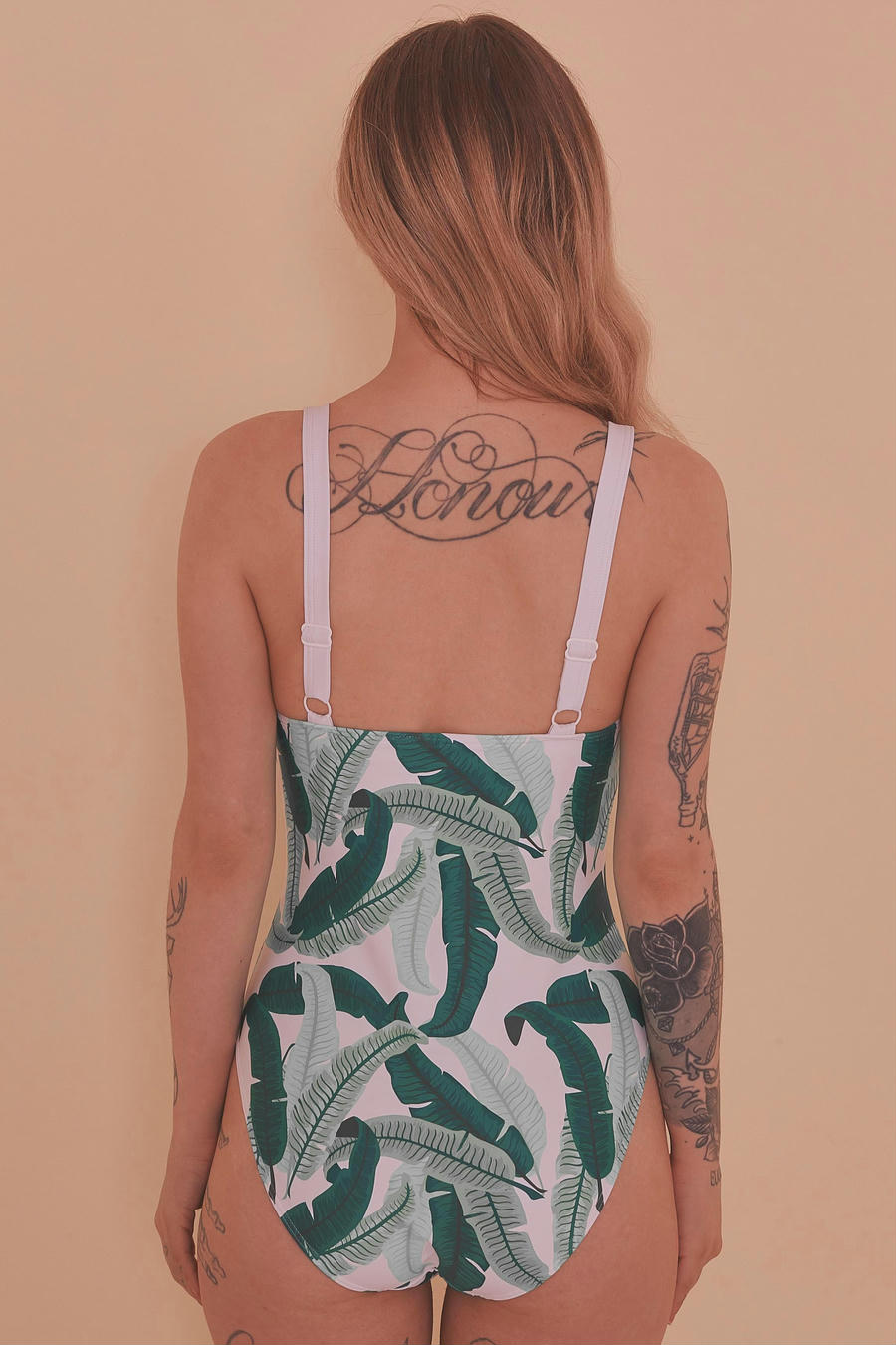 Banana Leaf Knot Swimsuit - 6-18