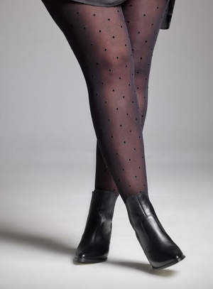 Polka Dot Tights S-4X