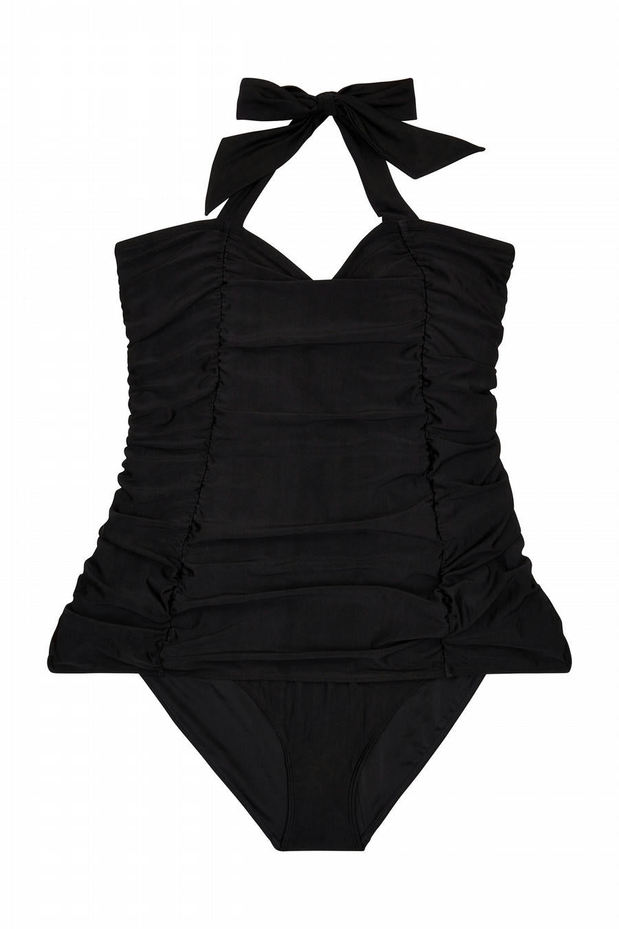 Ruched Skirted Swimsuit - 4-18
