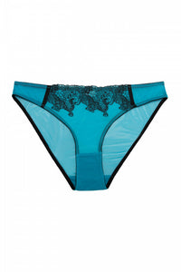 Electric Blue Tiger Brief - sizes 4-22