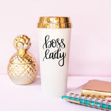 Boss Lady Travel Tumbler