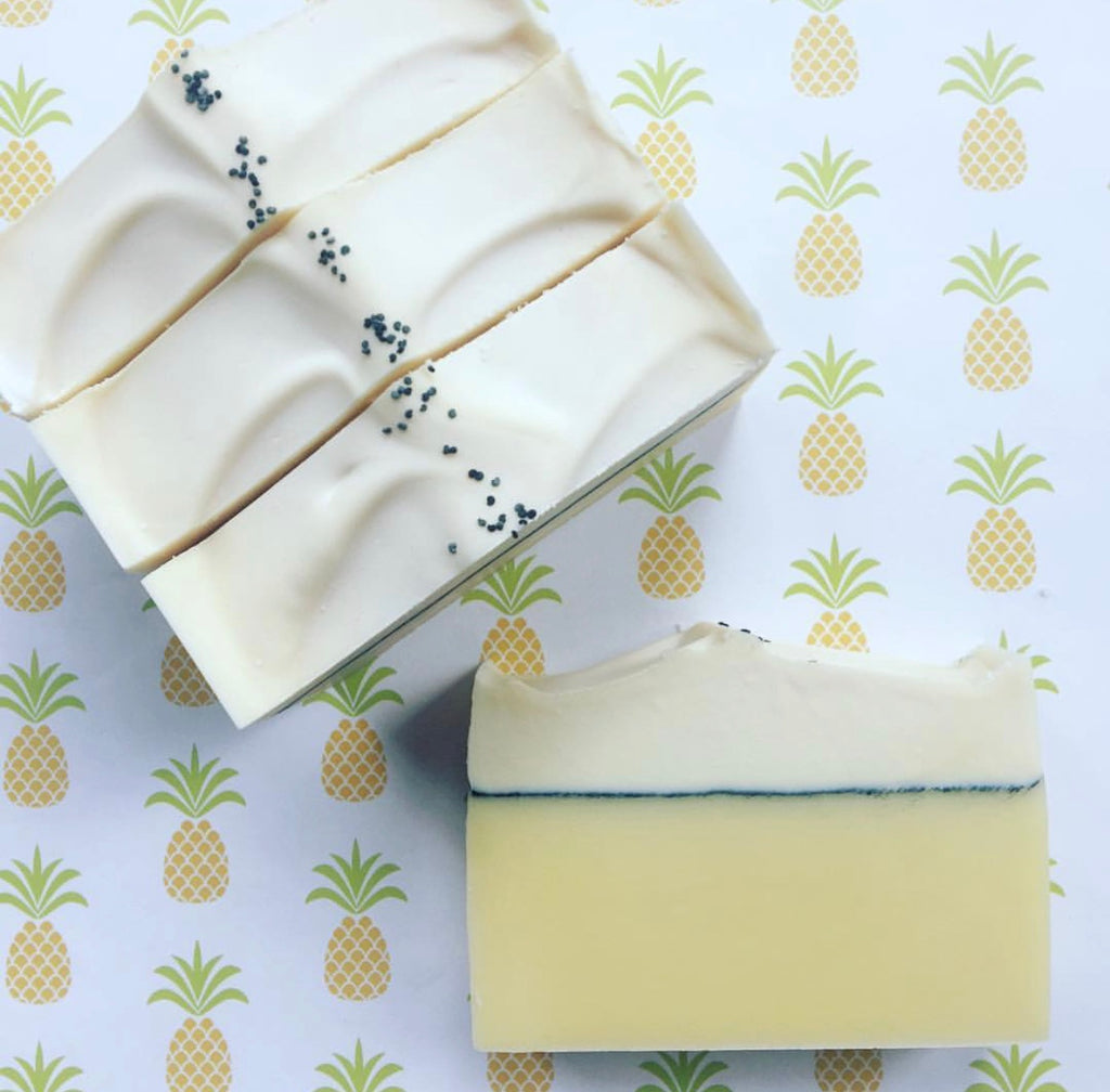 Lemon Cupcake Soap