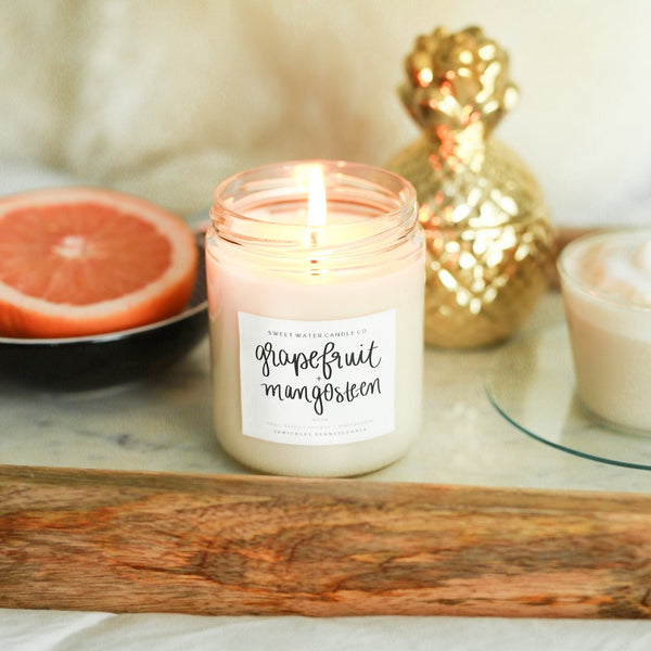 Grapefruit and Mangosteen Candle