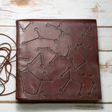 Stars Handmade Leather Journal