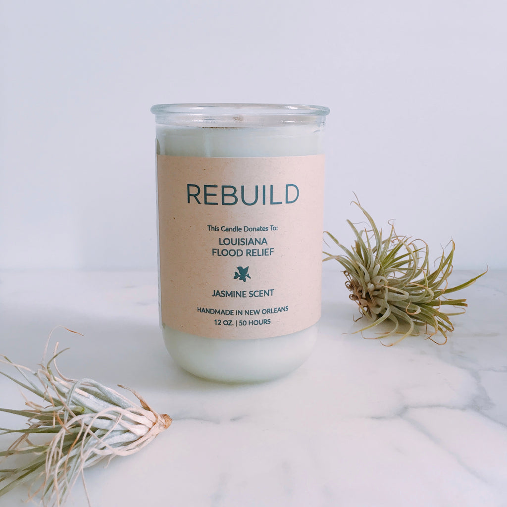Rebuild Candle (Louisiana Flood Relief)