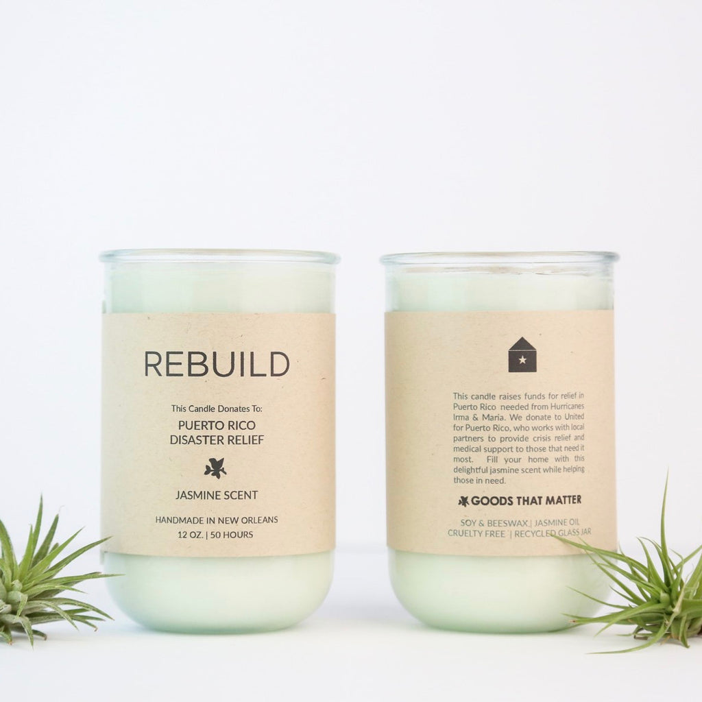 Rebuild Candle (Texas Flood Relief)
