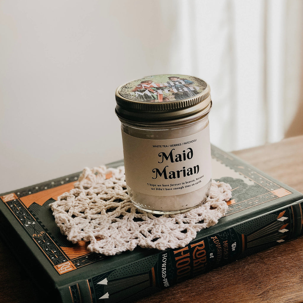 Maid Marian Inspo Bookish Candle
