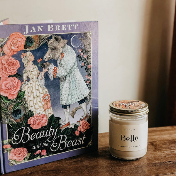 Belle Inspo Bookish Candle