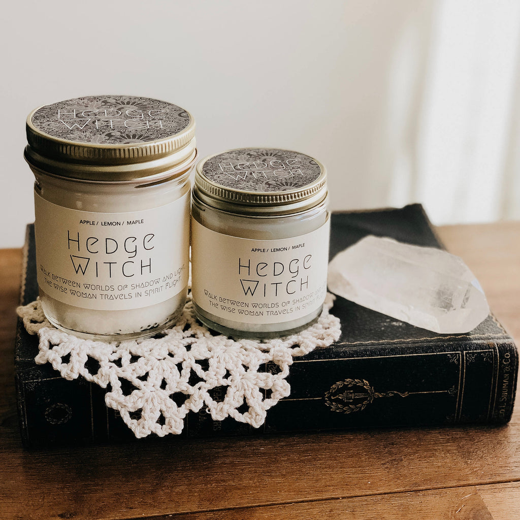 Hedge Witch Inspo Bookish Candle