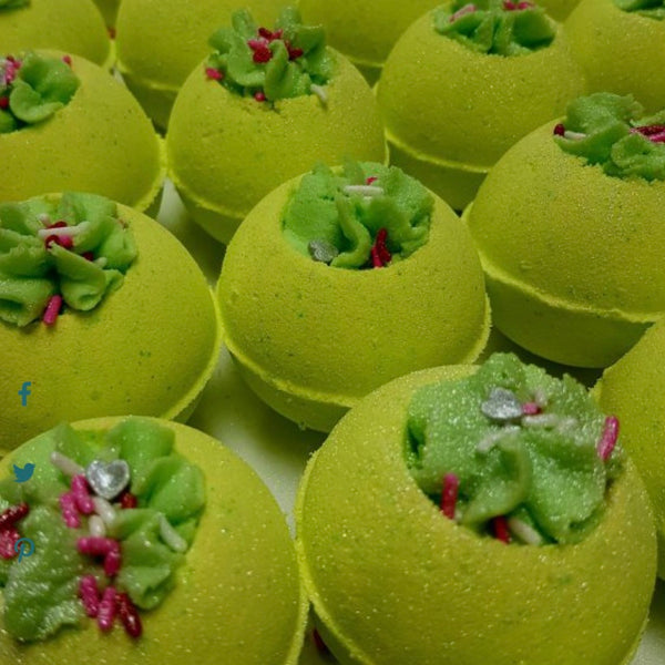 Cucumber Melon Bath Bombs