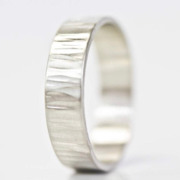 Sterling Silver Rustic Ring
