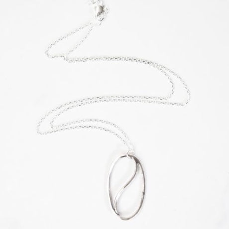 Delicate Simple Yin Yang Balance Necklace