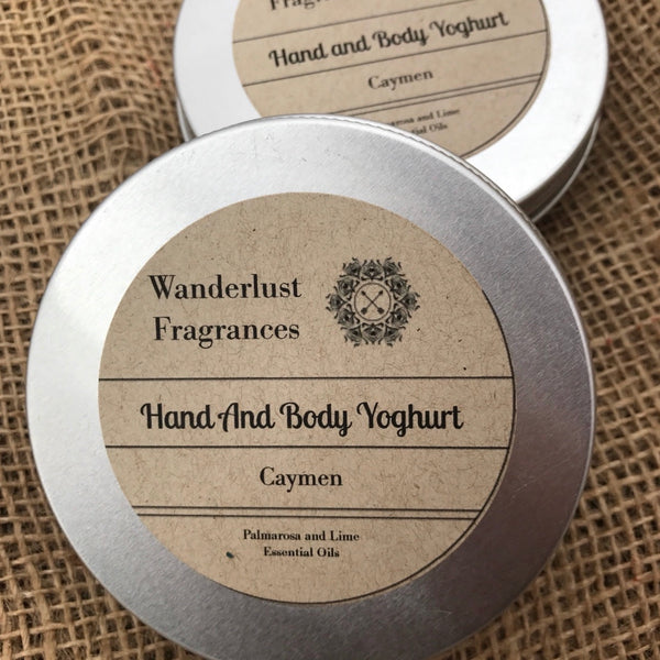 Caymen Hand & Body Yogurt