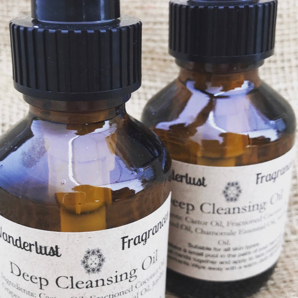 Deep Cleansing Facial Oil