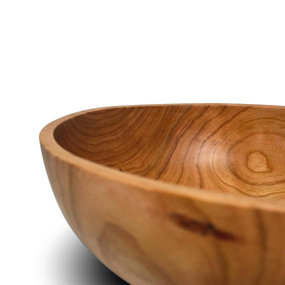 Black Cherry Wood Bowl