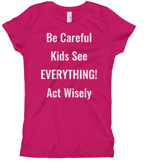 VT-shirt Kids See Everything