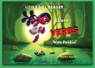 Little Dill Reader -Learn Verbs With Pookie