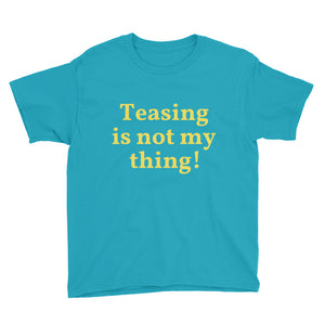 wvt  Boys Youth Short Sleeve Teasing T-Shirt