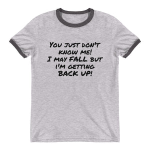 wwt- Getting Back Up Men's T-Shirt