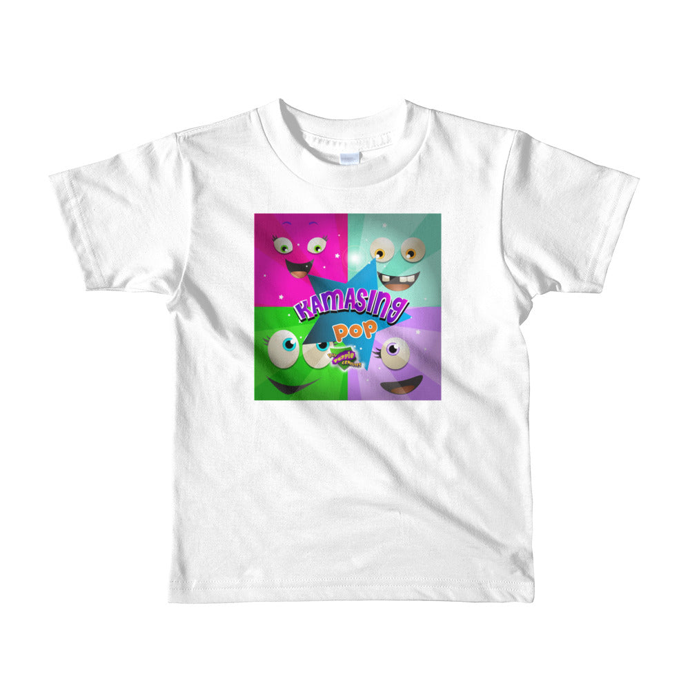 vt- Kamasing Kids White Tee (2-6yrs girls)