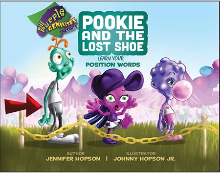 Pookie And The Lost Shoe hardcover - 3 to 8 years of