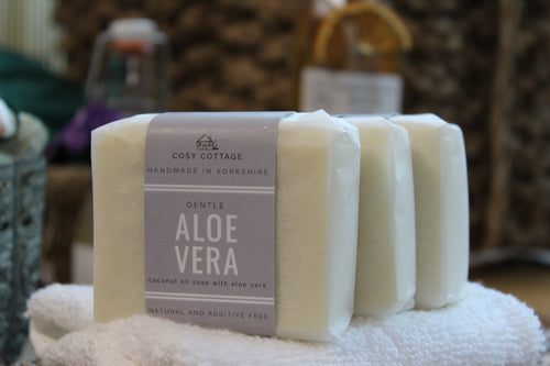 Cosy Cottage Aloe Vera Soap