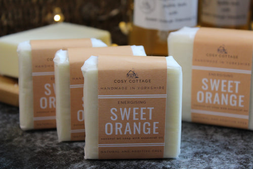 Cosy Cottage Sweet Orange Soap