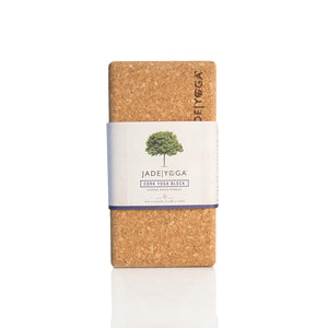 Jade Cork Yoga Block - Small
