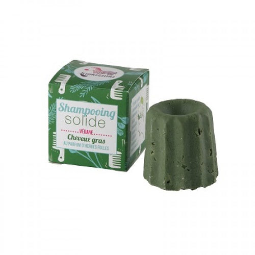 Solid Shampoo Bar For Oily Hair Wild Herbs