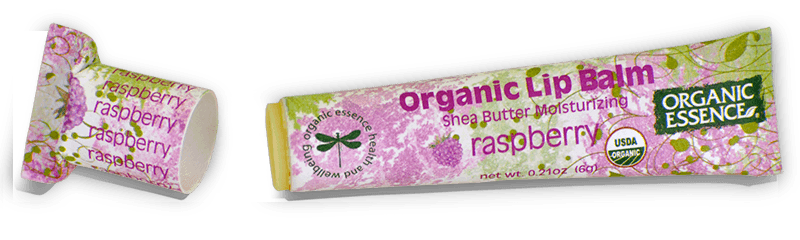 Organic Essence Raspberry Lip Balm