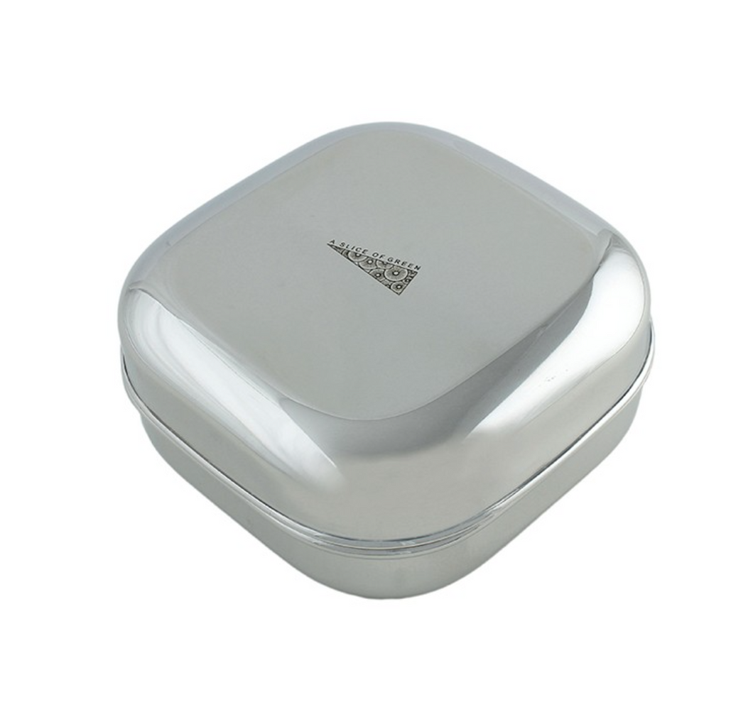Shallow Square Food Container