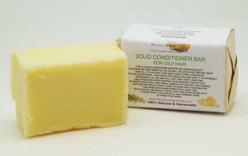 Solid Hair Conditioner For Oily Hair 95g