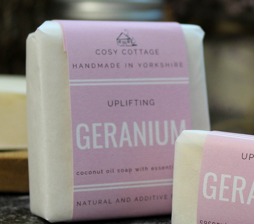 Cosy Cottage Geranium Soap
