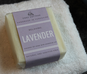 Lavender Soap and Face Cloth Gift Set